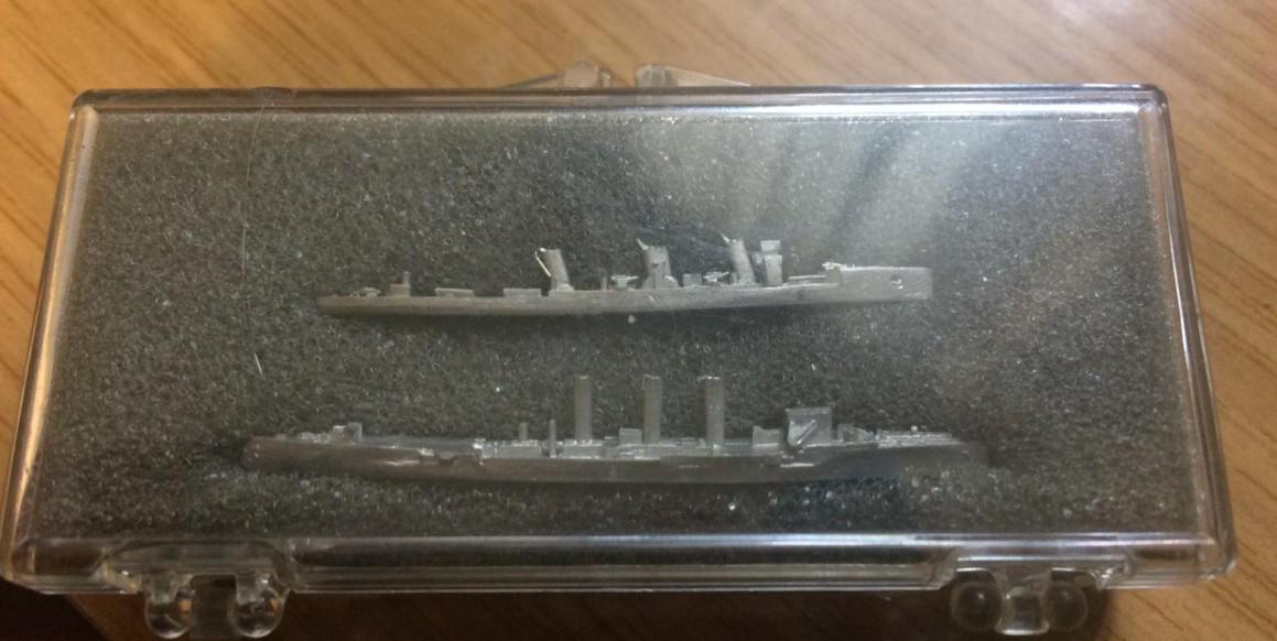 die SMS König und der Schlachtkreuzer Von der Tann für Broadside.