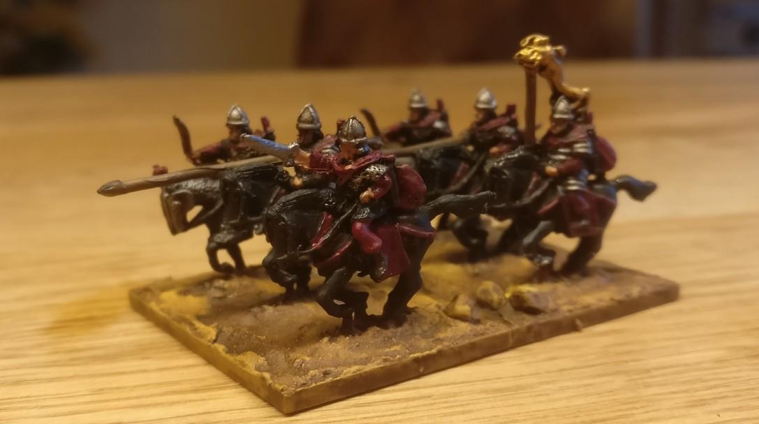 So sollen die Knight Fast / Kn(F) später mal in die DBMM-Schlacht preschen!