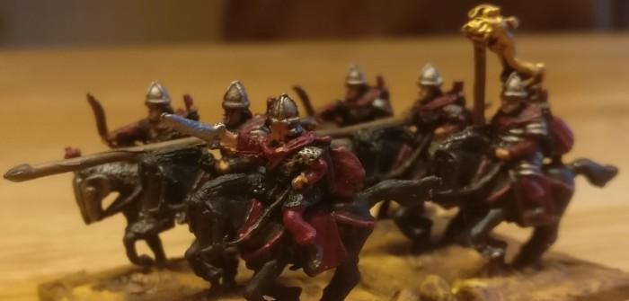 Sarmaten: Kn(F) / Knight Fast für die Legiones Commoti
