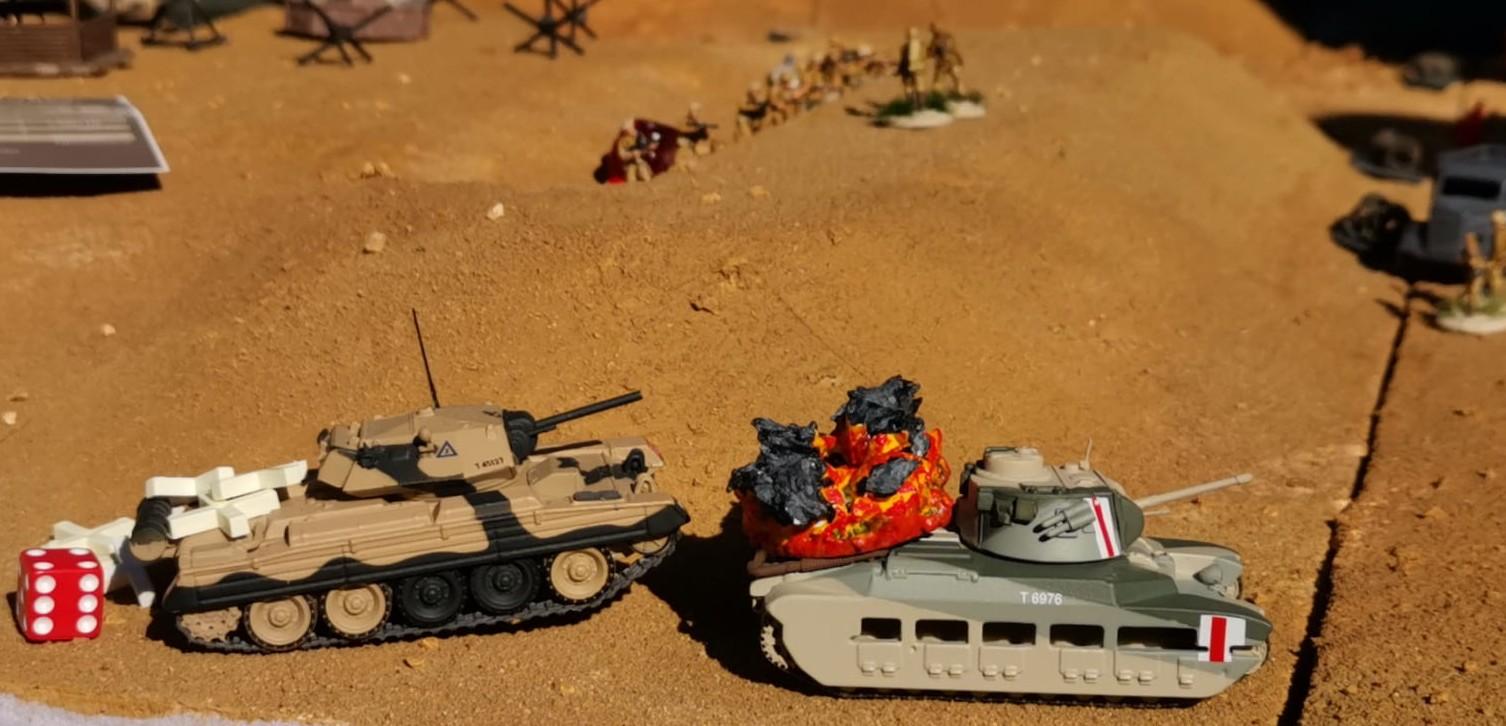"""Sturmis Tommies waren ebenso mutig wie blutig. Im Szenario """"Tobruk"""" mussten die Briten ordentlich Federn lassen. Aber """"Battlegroup Kursk"""" spielt sich sehr gut."""