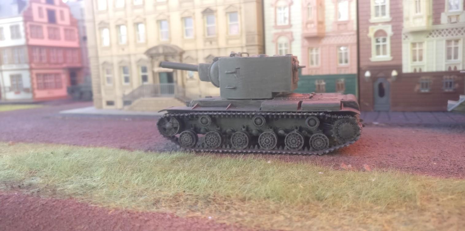 Battlegroup Kursk: Unser erstes Spiel damit in Eisenstadt. Wenig Dickblech und viel Örli War.