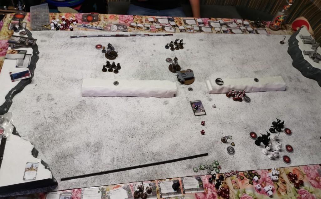"""Der """"Star Wars Legion"""" - Spieltisch."""