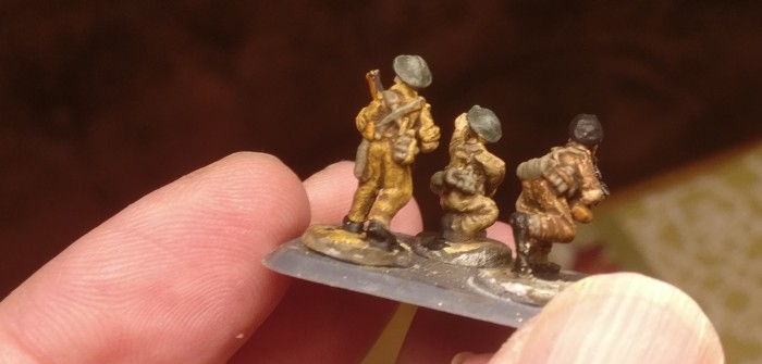 15mm British and German Infantry