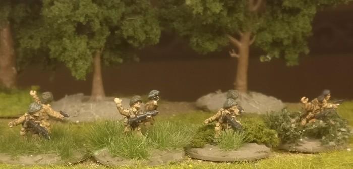 Flames of War British Infantry Platoon auf neuer Base