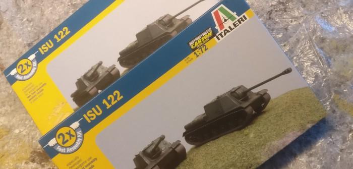 Italeri 7503 ISU 122
