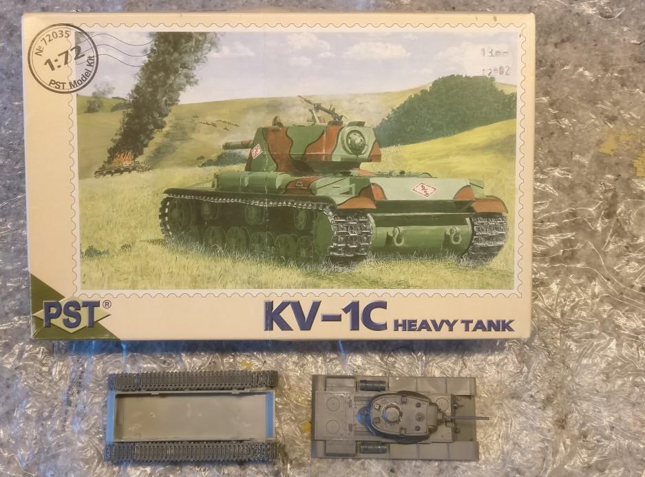 Der PST 72035 KV-Ic im Lieferzustand.
