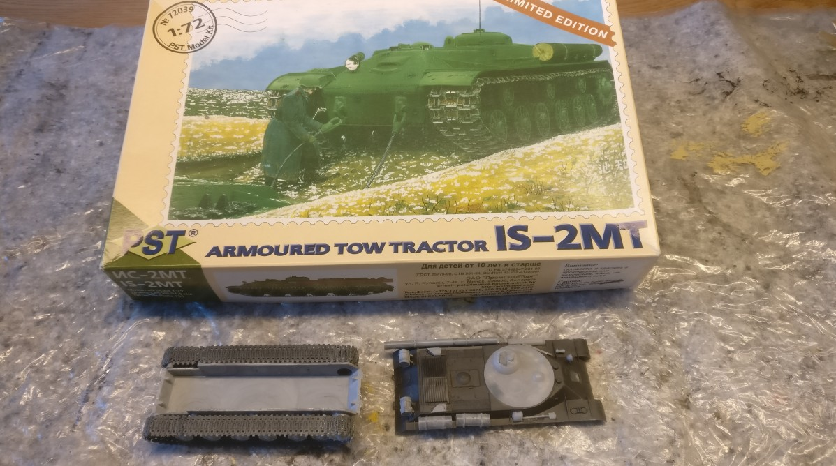 PST 72039 IS 2MT Armoured Tow Tractor
