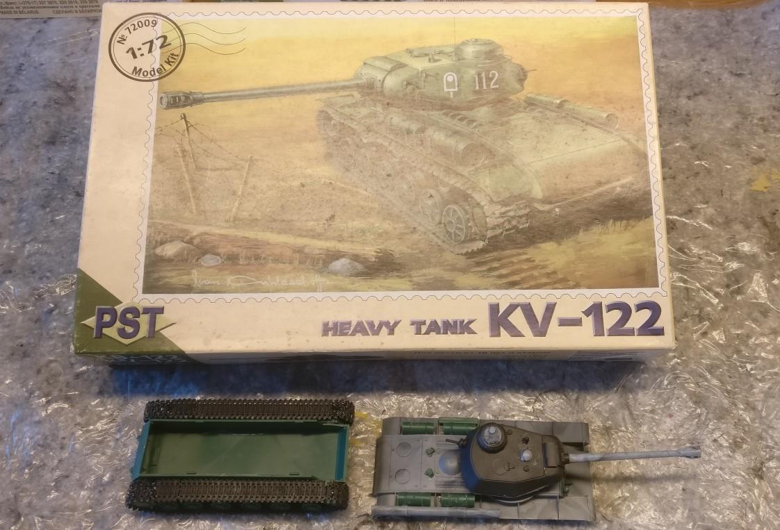 PST 72009 KV-122 Heavy Tank