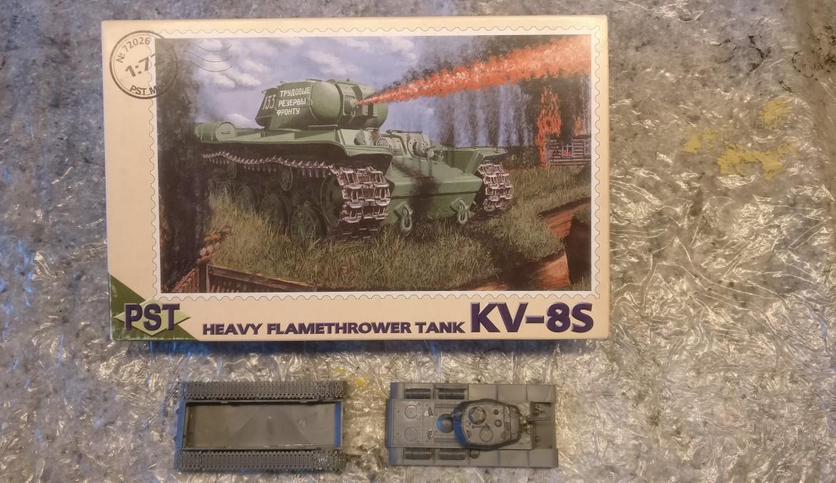 PST 72026 KV-8S Heavy Fleamthrower Tank