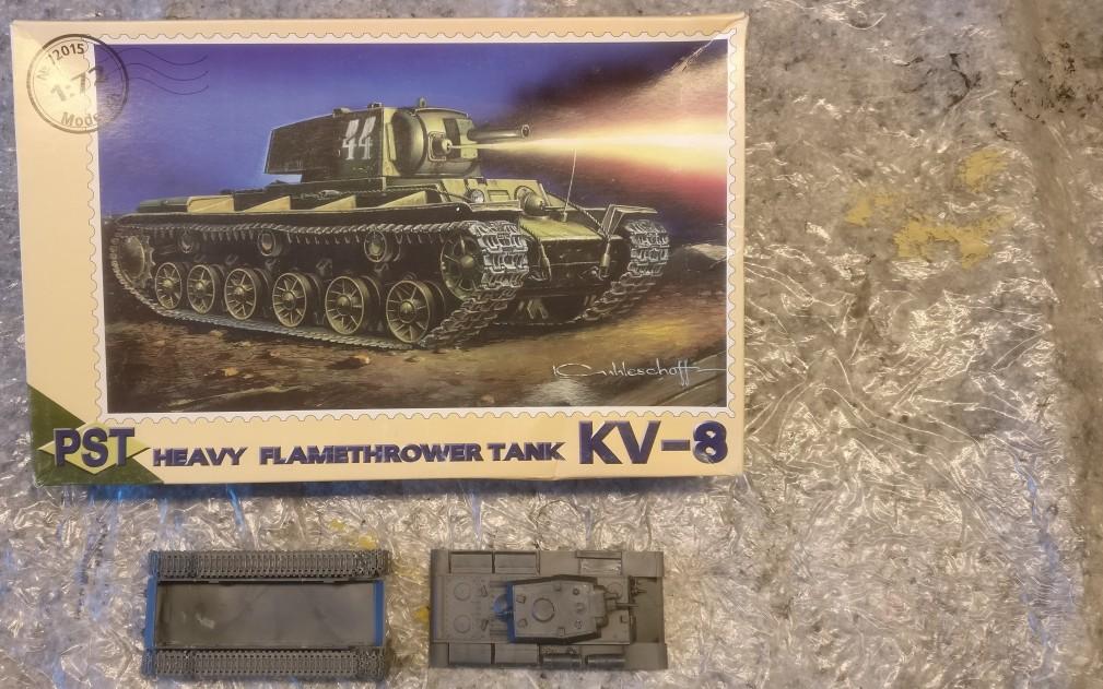 PST 72015 KV-8 Heavy Flamethrower Tank