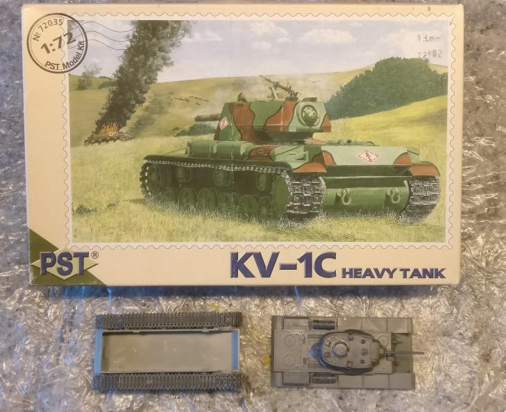 PST 72035 KV-Ic Heavy Tank