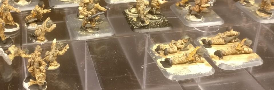 Aber auch 2 Inch Mortars haben wir bei der 15mm British Infantry ein paar dabei.