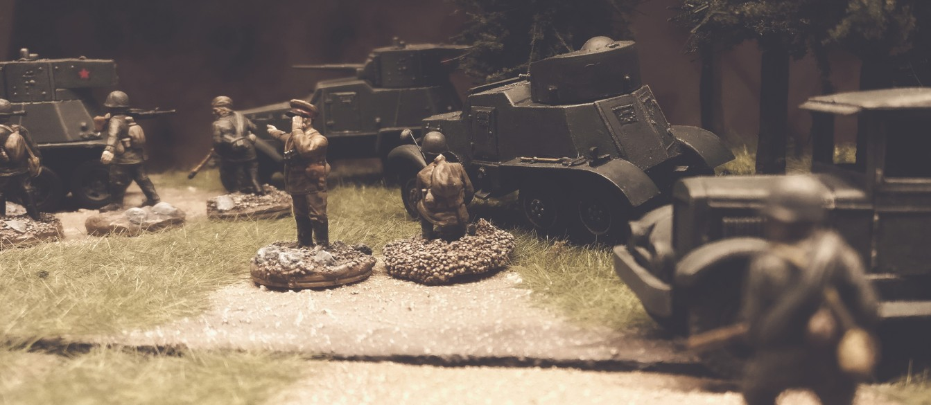 Ein paar BA-6 und andere Panzerspähwagen / Armored Cars der 5. Gardepanzerarmee