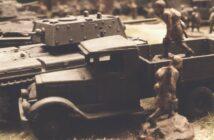 Fotos aus dem Bereitstellungsraum der 5. Gardepanzerarmee