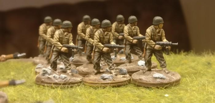 54 Mann US Infanterie
