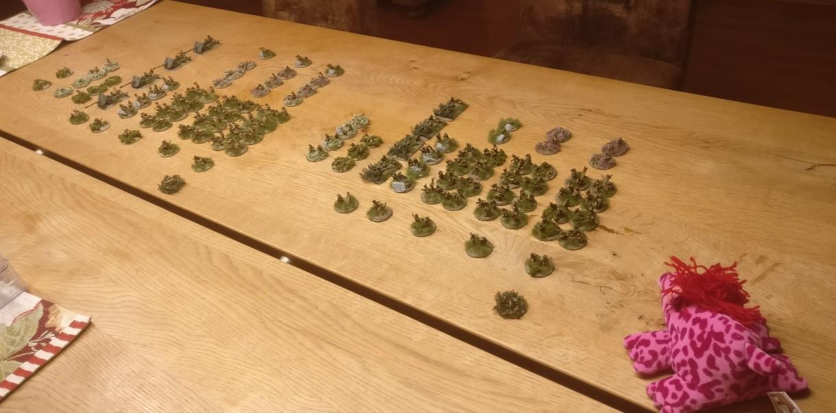 Sturmis beide PBI-Briten Armeen durften noch am Abend antreten. Nu kann es mit dem Spiel los gehen.