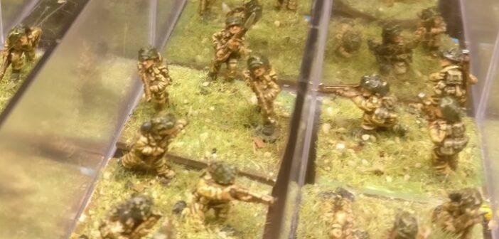 """Basen für die 15mm Brexit Boys (wollte sagen """"British Infantry"""")"""