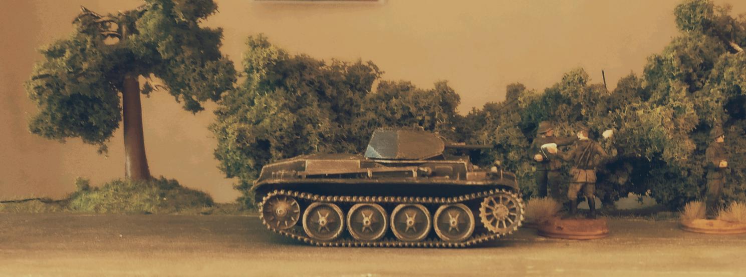 Panzerkampfwagen II (2cm) (Sd.Kfz. 121) Ausf. D1