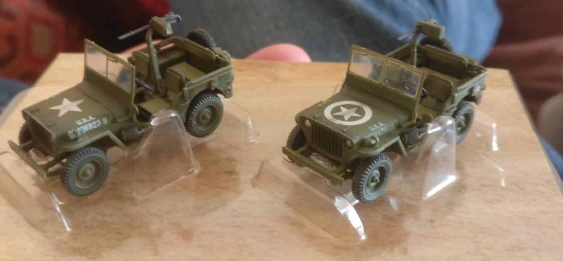 "Im Originalzustand: Dragon Armor 60505 ""US ARMY Jeeps 2x 1/4 TON 4x4 Set & .30 Cal. Machine guns"""
