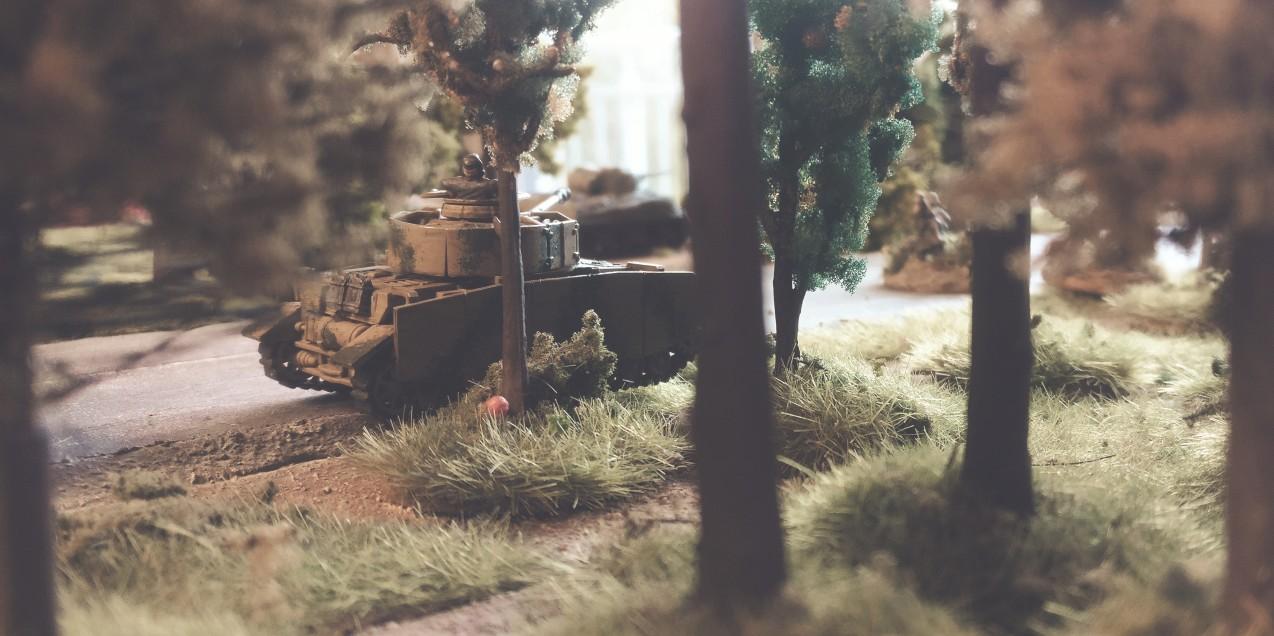 Ein Lucks Shot: der Ambush des Panzer IV Ausf. H auf den Schörmi sollte gelingen.