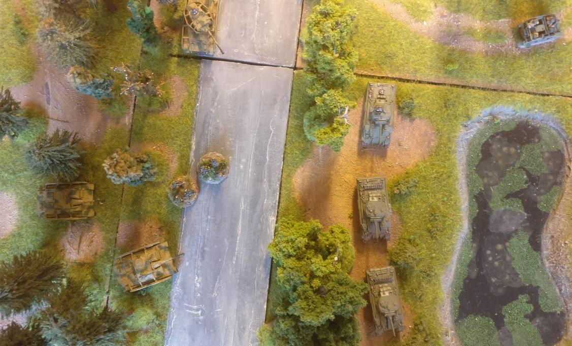 Die Frischluftszene aus der Perspektive des Piloten der Thunderbolt.