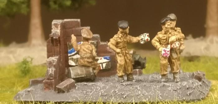 English Five o'clock Tea: Flames of War Royal Artillery Battery (BBX09)