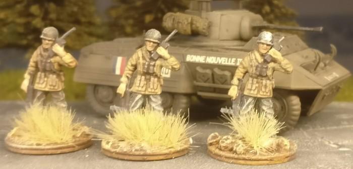 Offiziere für die US Infantry