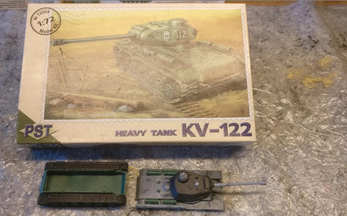 Der PST 72009 KV-122 im Lieferzustand.
