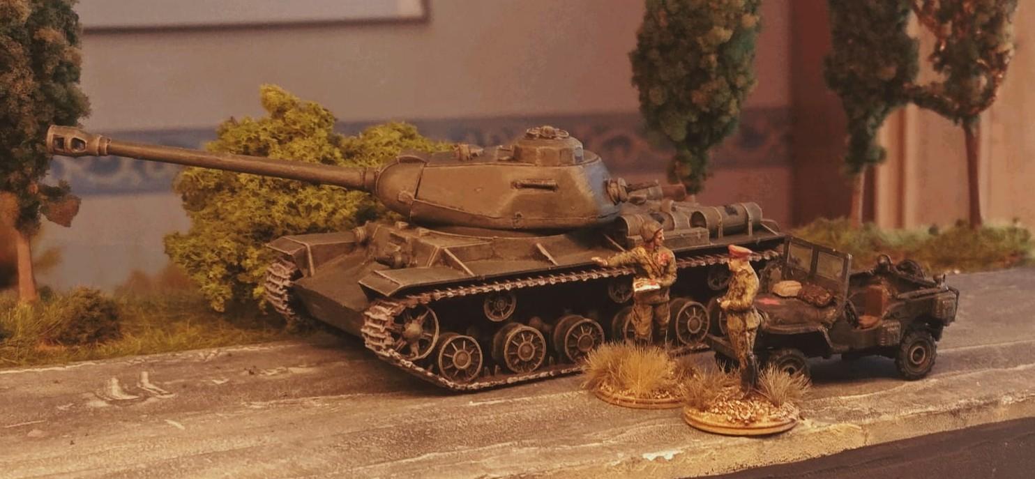 Der PST 72009 KV-122 bei der ersten Ausfahrt...