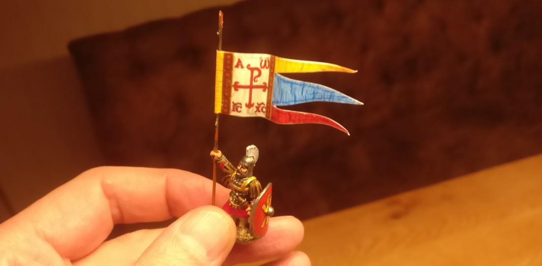 So kann der Kollege mit an Bord bei seinem byzantinischen SAGA-Warlord.
