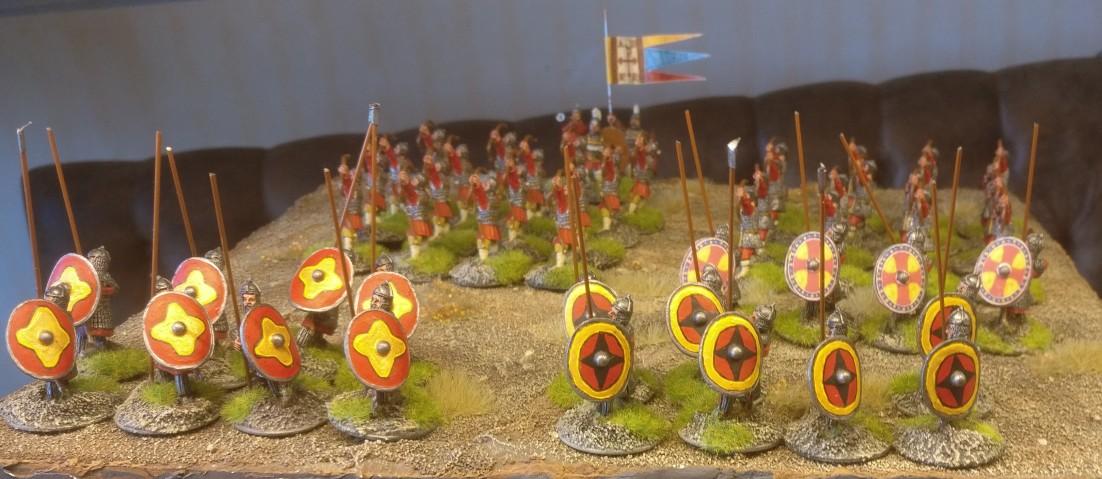 Der byzantinische SAGA-Warlord fühlt sich beflügelt und hört nimmer auf zu siegen...