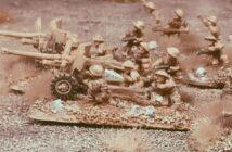 8th Army: zwei Ordnance QF-6-Pfünder-7-cwt 57mm Anti Tank Gun für Nordafrika