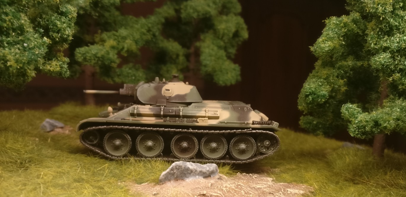 Dragon 60149 T-34/76 Mod. 1940, 1st Moscow Motorized Rifle Division, July 1941