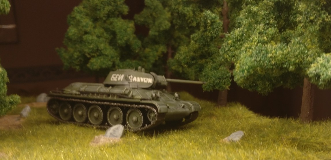 Dragon 60150 T-34/76 Mod. 1941, Eastern Front 1941