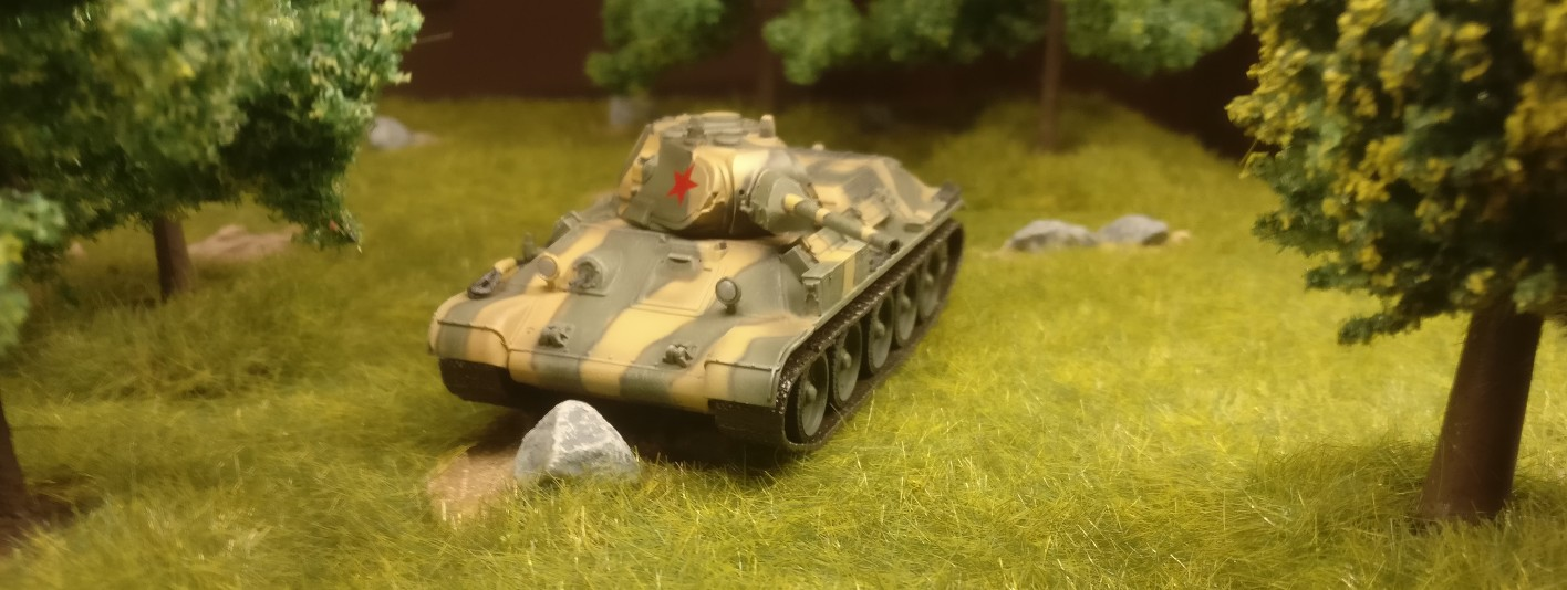 Dragon 60473 T-34/76 Mod. 1941, 1. Guards Tank Brigade, Eastern Front 1942