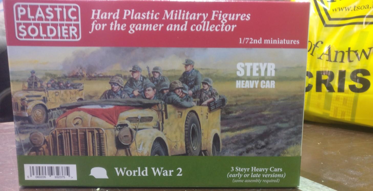"""Der Steyr Heavy Car war ein """"Auftragsloot"""" für den Dominic."""
