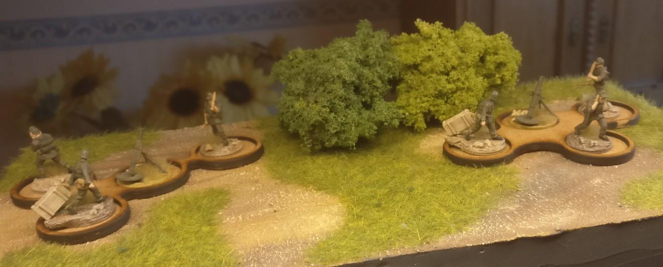 Die Laser Cut MDF Infantry Trays von Paint Empire - sofort im Einsatz.
