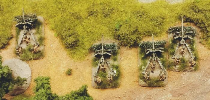 Flames of War Airborne 57mm Anti Tank Platoon