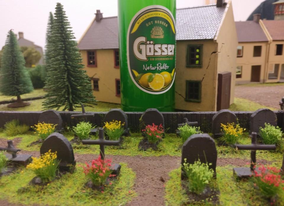 Beobachtungen am örtlichen Friedhof