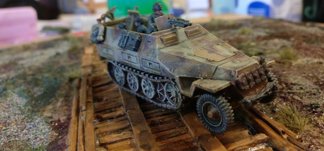 Eines der Sd.Kfz.251 Ausf. D