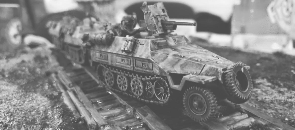 Alle drei Sd.Kfz.251 Ausf. D