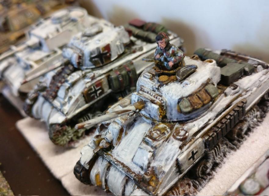 Ein M4 Sherman in deutschen Diensten. Die Ardennen rufen.