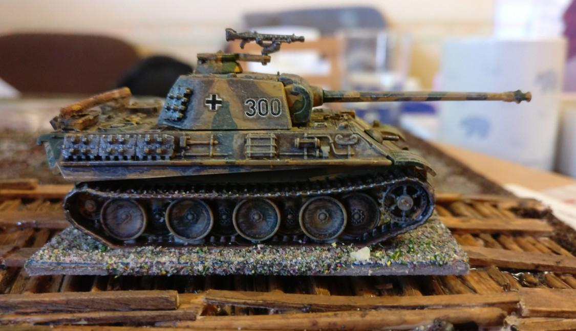 Ein Pz.Kpf.Wg. V Panther.