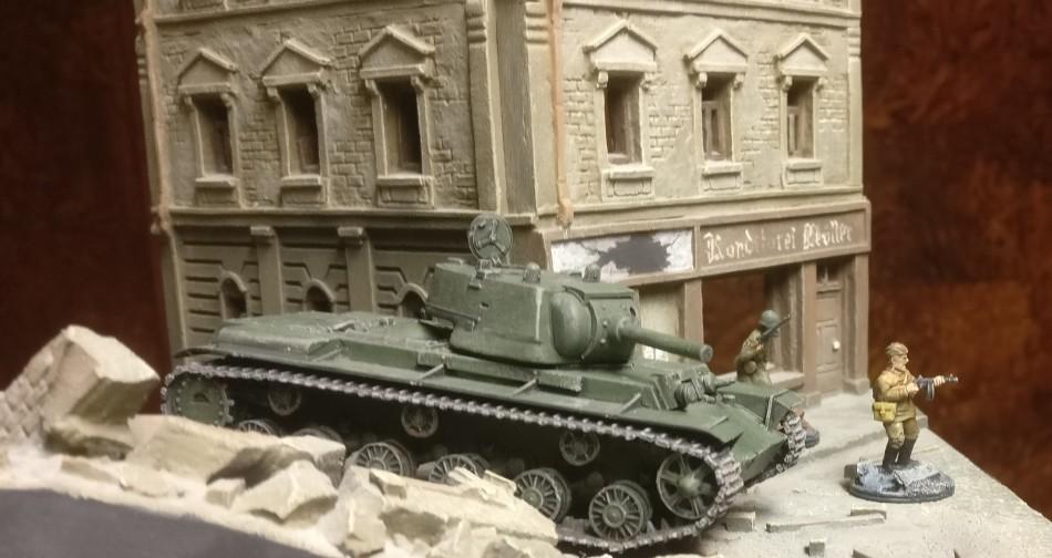 Erste Fotos. der PST 72034 KV-9 Heavy Tank im Einsatz in Shturmigrad