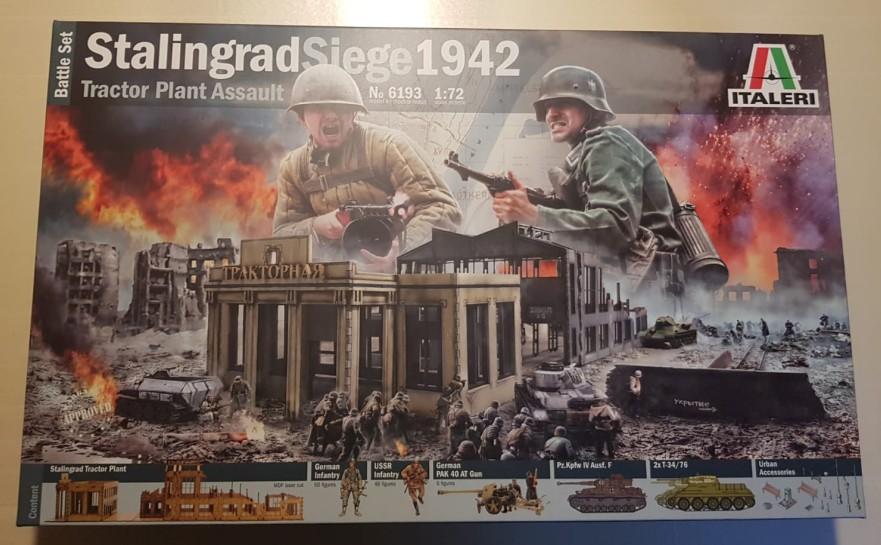 Mächtig prächtig, das Italeri 6193 Stalingrad Siege 1942 Tractor Plant Assault!