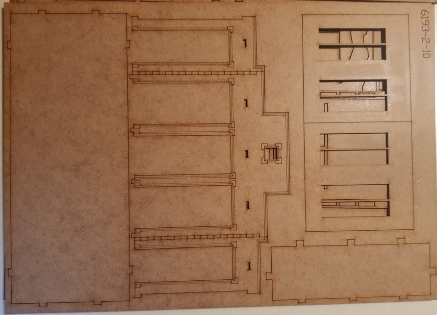 Bogen 2 der Tractor Plant von Sarissa im Italeri Stalingrad-Set