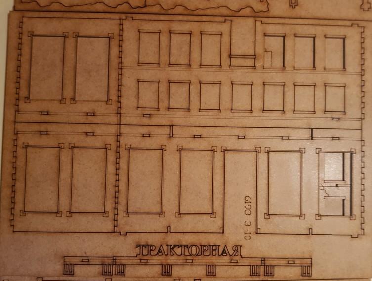 Bogen 3 der Tractor Plant von Sarissa im Italeri Stalingrad-Set