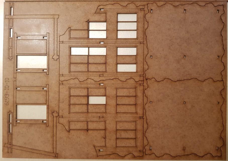 Bogen 10 der Tractor Plant von Sarissa im Italeri Stalingrad-Set