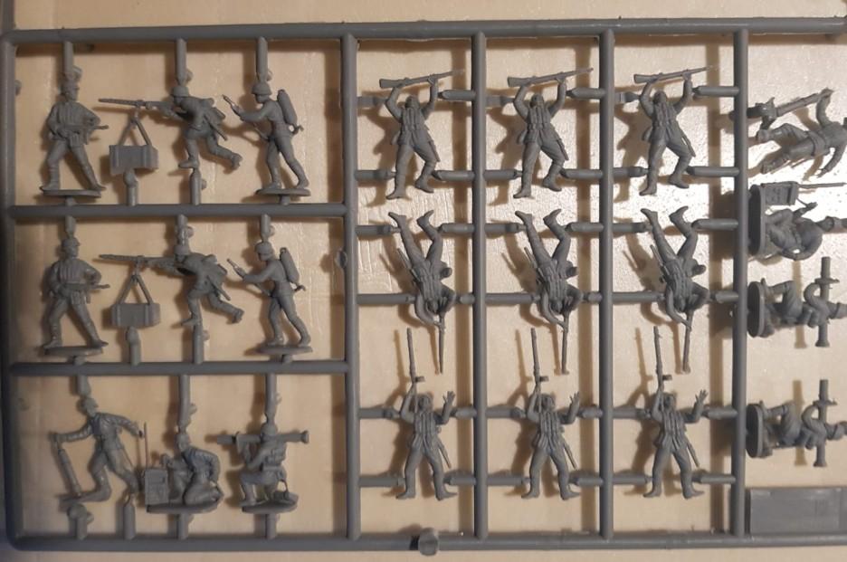 Die deutsche Infanterie stammt aus dem Set Italeri 6033 German Infantry