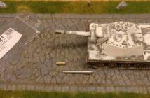 152,4mm ML-20S für das ISU 152- Ein Umbau mehrerer ISU 122 zum ISU 152 unter Verwendung von gedrehten Rohren für die 152mm Haubitze ML-20S.